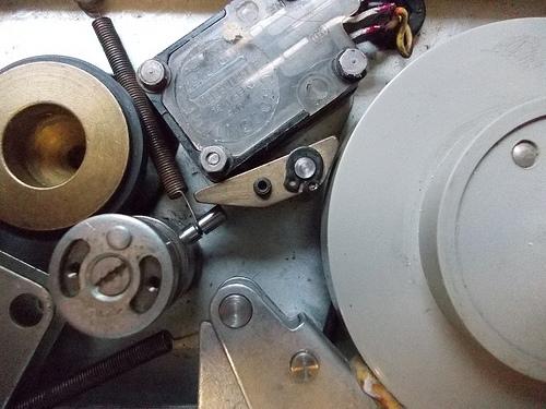 tape machine photo