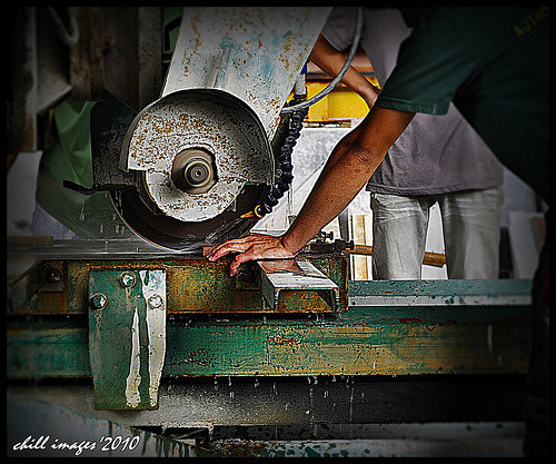 cutting machine photo